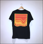 Load image into Gallery viewer, Echoes Logo Black Tee