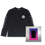 Load image into Gallery viewer, Black Long Sleeve Tee + Signed Album