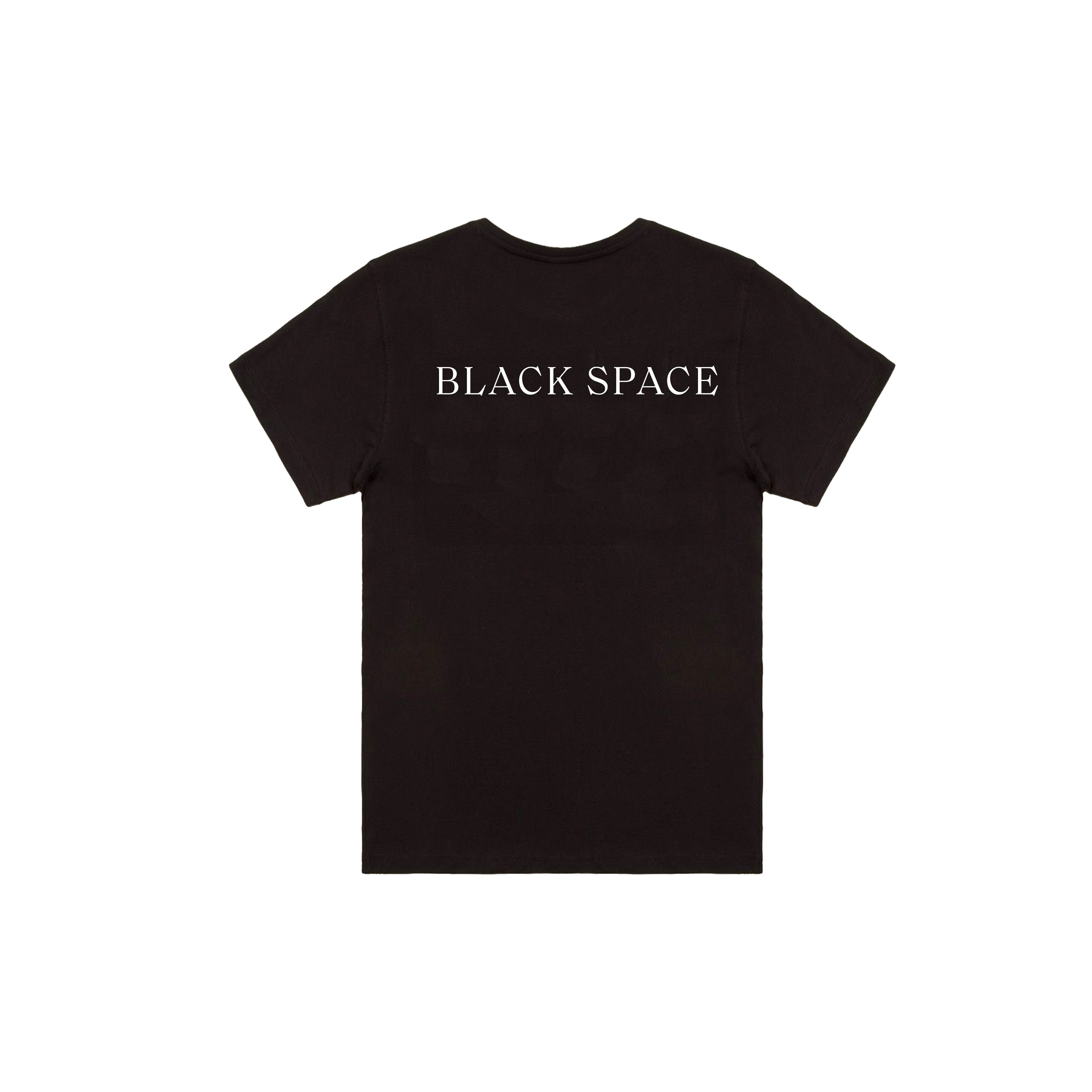 Black Short Sleeve Tee + Album