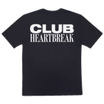 Load image into Gallery viewer, Club Heartbreak Tee - Black and White