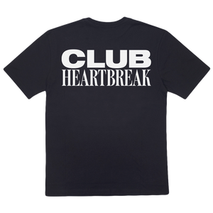 Club Heartbreak Tee - Black and White