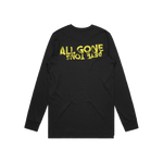 Load image into Gallery viewer, AGPT Distressed Long Sleeve Tee (Black)