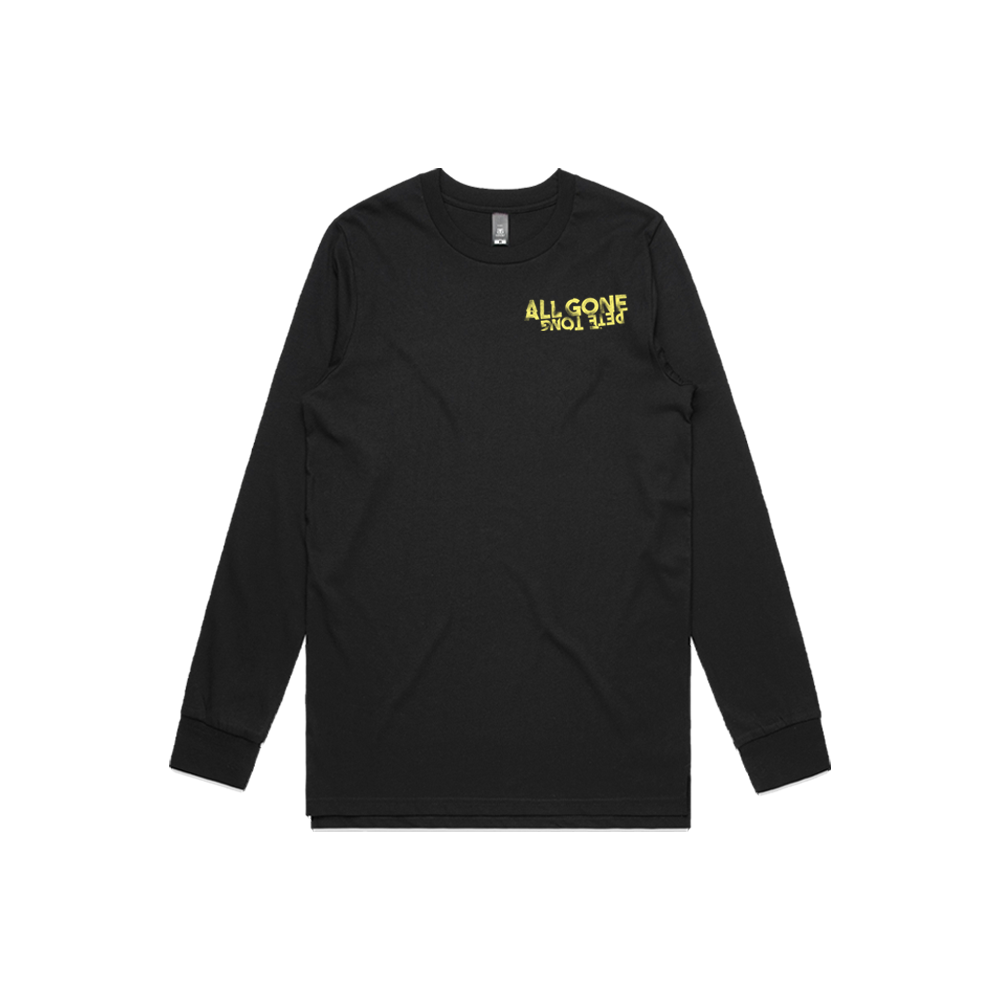 AGPT Distressed Long Sleeve Tee (Black)