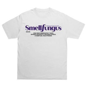 Smell Fungus White T-shirt