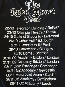 Rebel Hearts Tour T-shirt