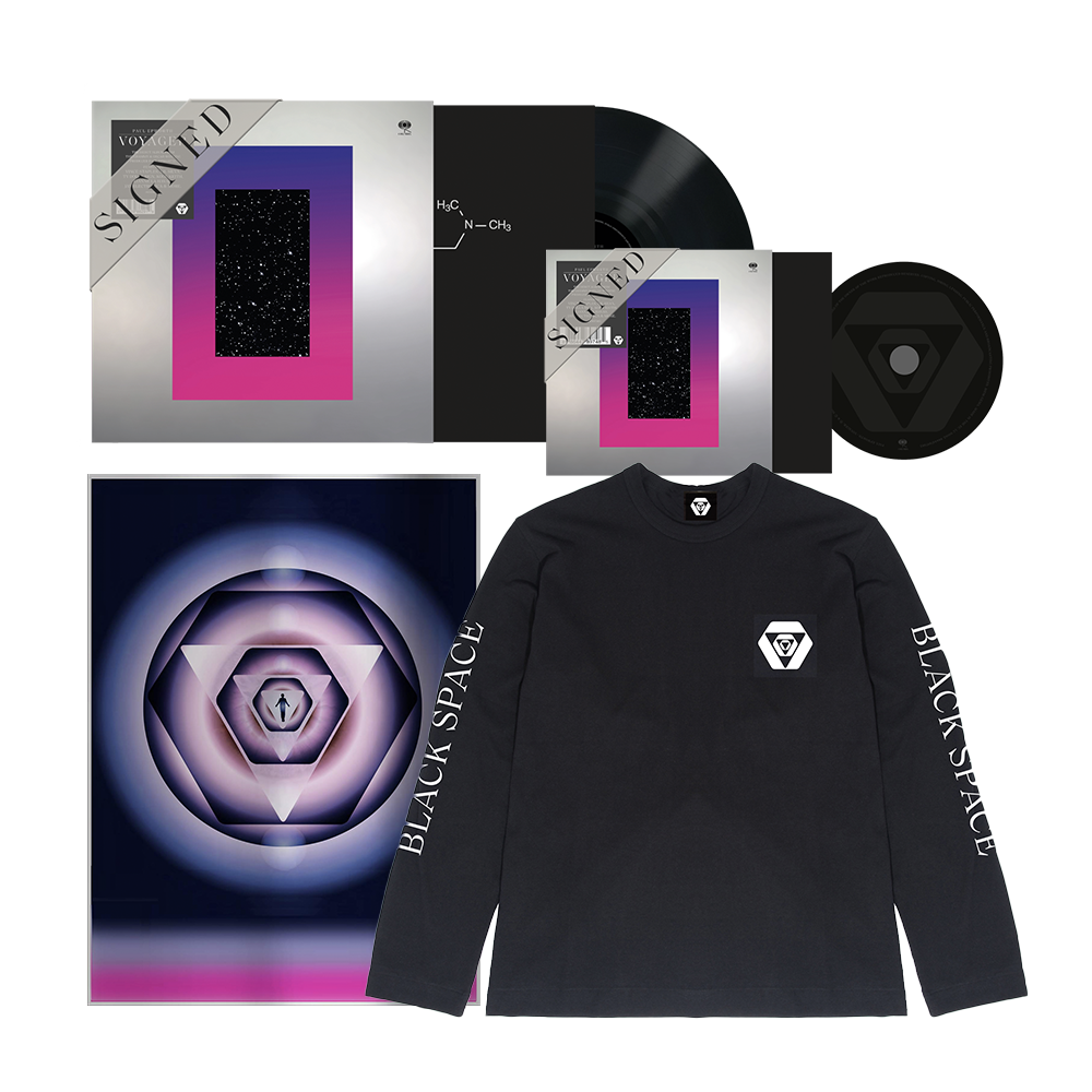 Signed CD + Signed LP + Signed Limited Edition Art Print + Black Longsleeve Tee