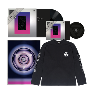 Signed CD + Signed LP + Limited Edition Print + Black Longsleeve Tee