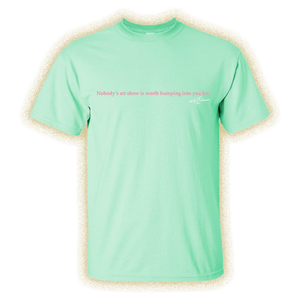 Art Show Mint Green Tee