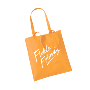 Logo Orange Tote