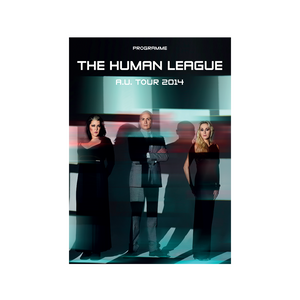 Human League 2014 Tour Program