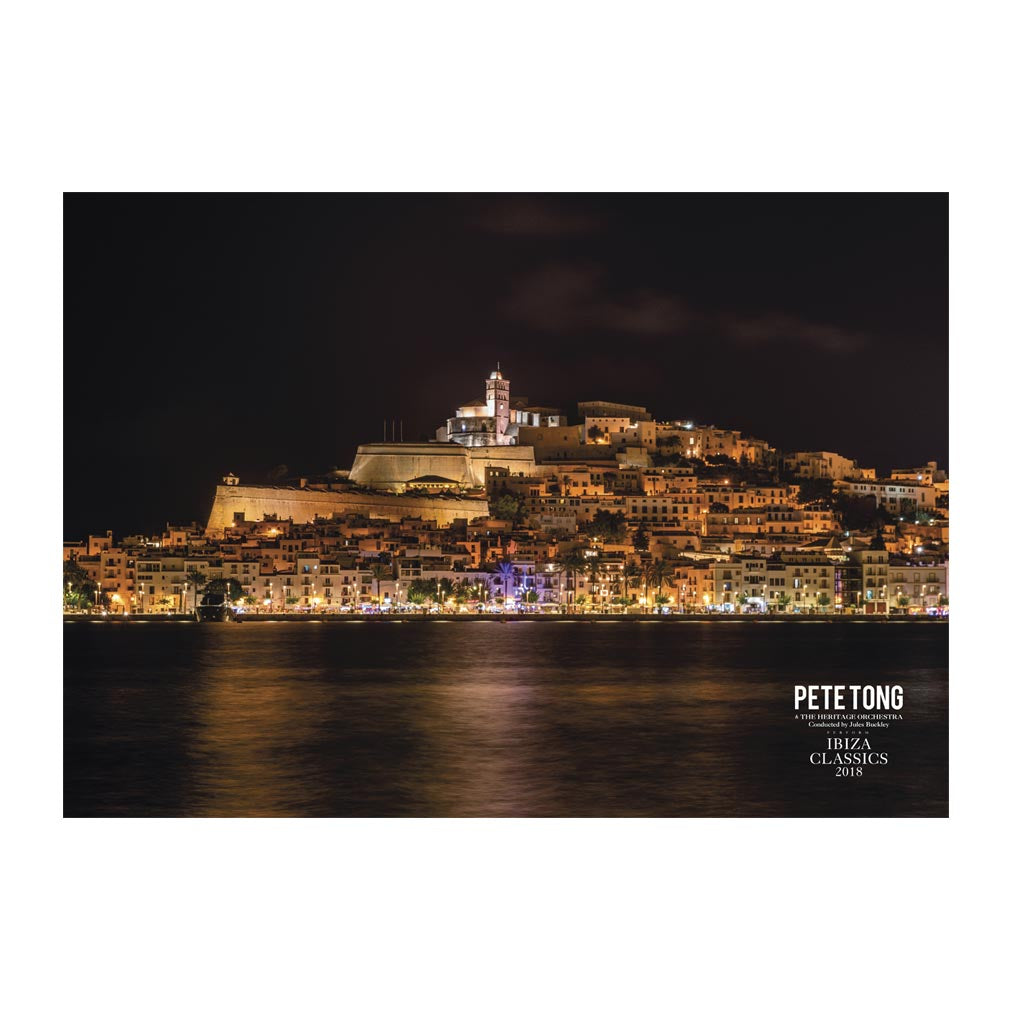 Ibiza Night Photo Poster