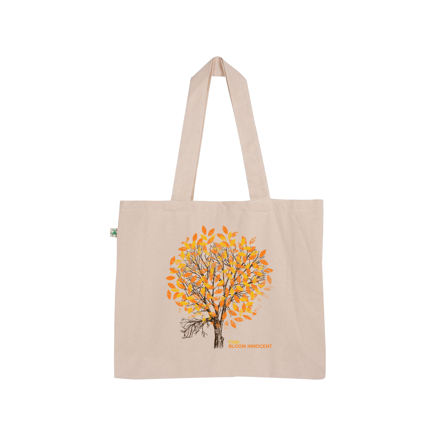 Bloom Innocent (Orange) Tote Bag