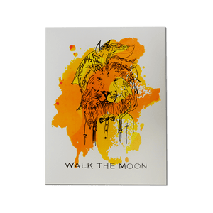 Walk the Moon Lion poster