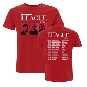 Red Tour 2018 Tee (Red)