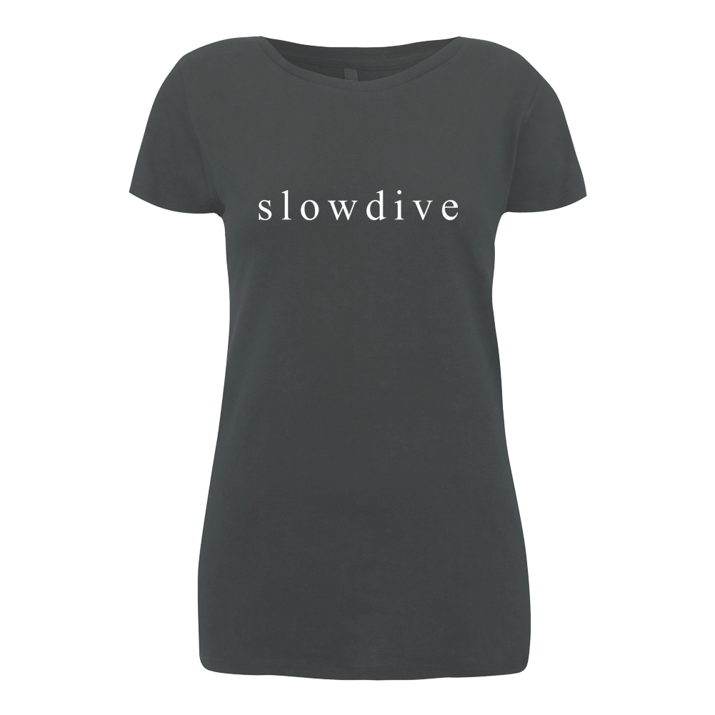 Logo Tour Charcoal T-shirt (Ladies)