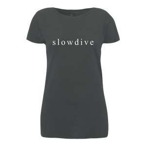 Logo Charcoal T-Shirt (Ladies)