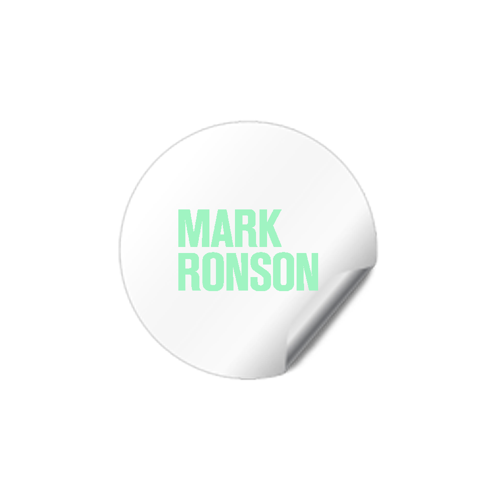Mark Ronson ® Stickers