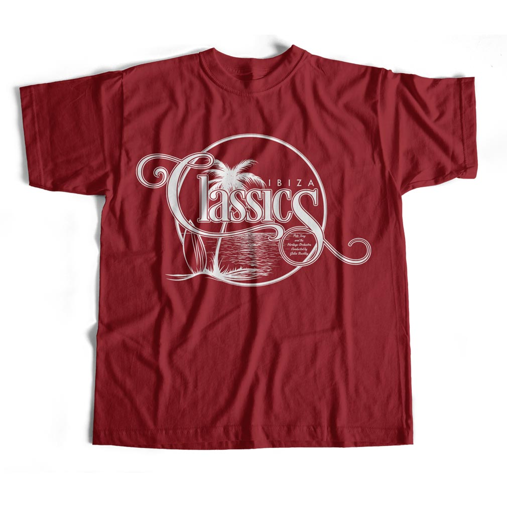 Palm Tree Classics Tee (Red)