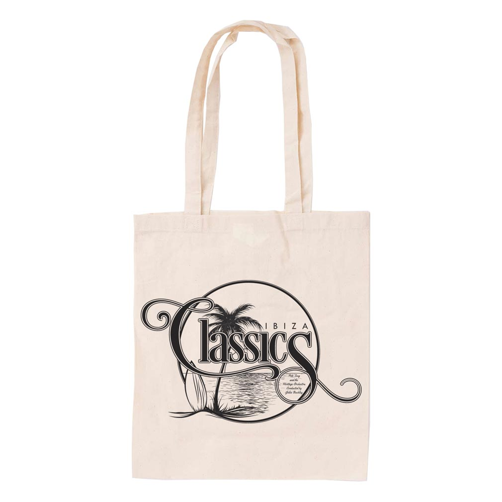 Palm Tree Classics Natural Tote Bag