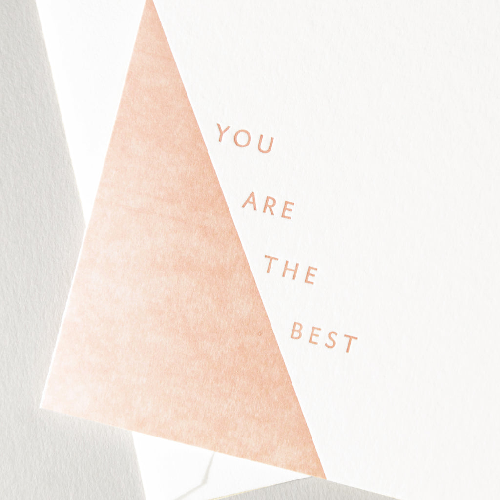 You Are The Best - Peach