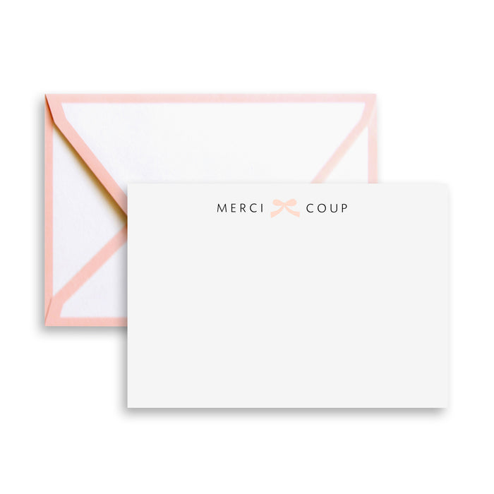 "Merci ""Bow"" Coup - Pink"