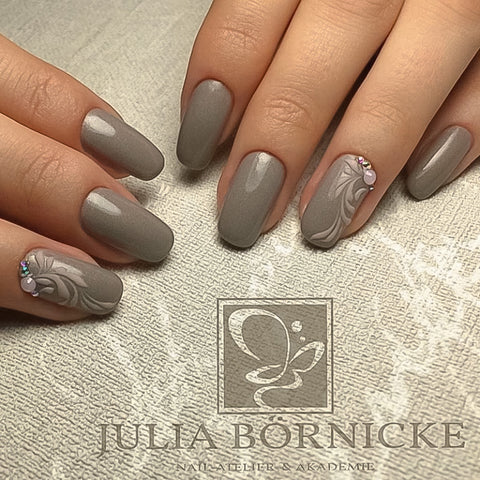 "UV Color Gel ""Taupe Pearl"""