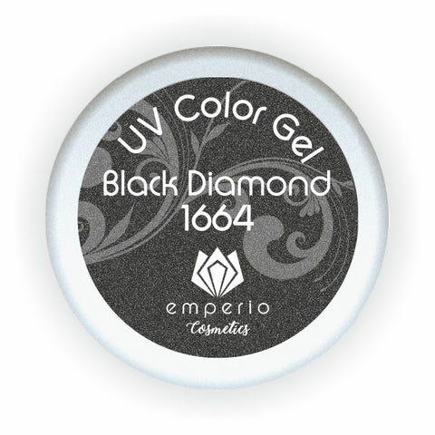 "UV Color Gel ""Black Diamond"""