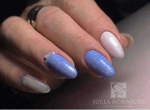 "UV Color Gel ""Ice Blue"""