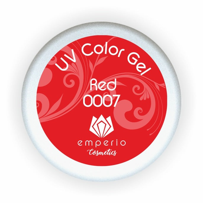 "UV Color Gel ""Red"""