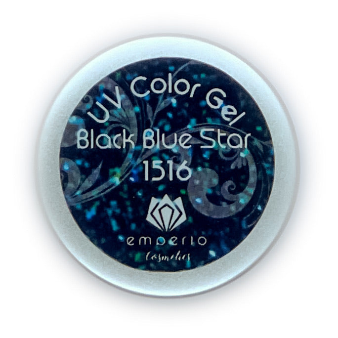 "UV Color Gel ""Black Blue Star"""