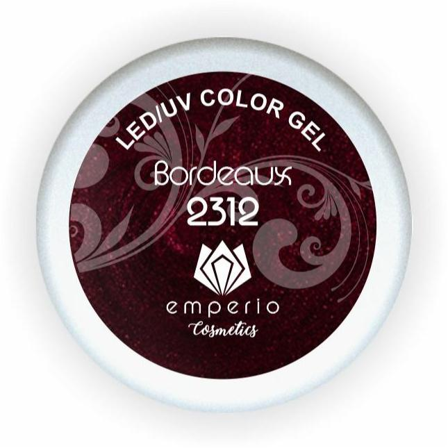 "LED/UV Color Gel ""Bordeaux"""