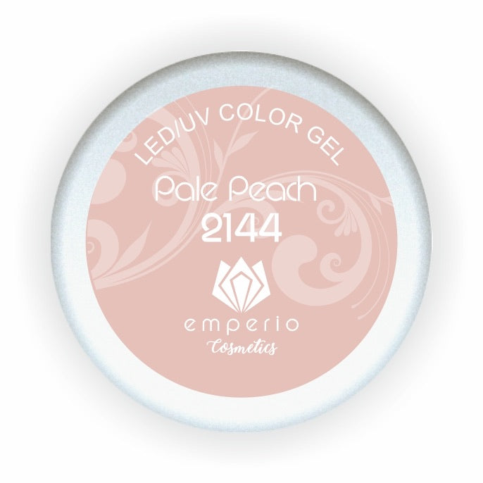 "LED/UV Color Gel ""Pale Peach"""