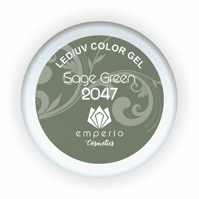 "LED/UV Color Gel ""Sage Green"""