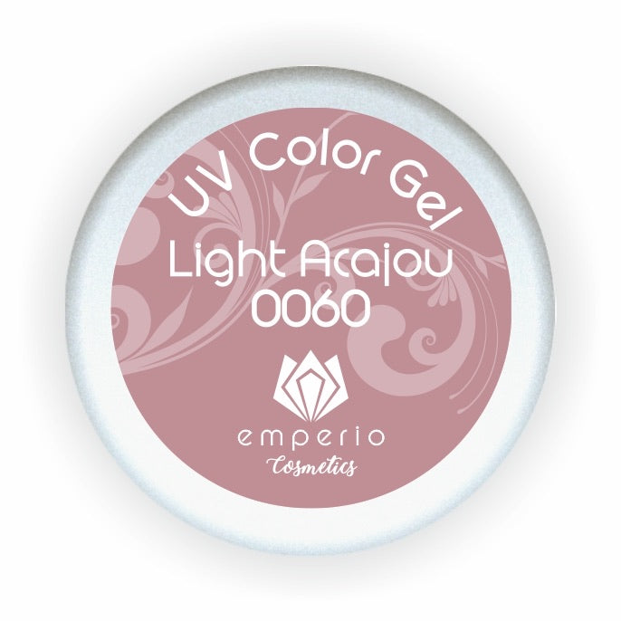 "UV Color Gel ""Light Acajou"""