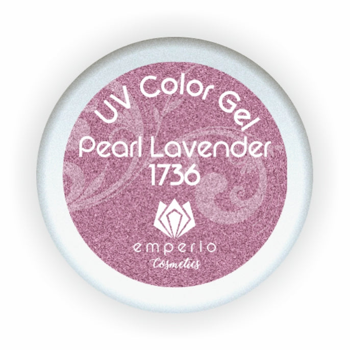 "UV Color Gel ""Pearl Lavender"""