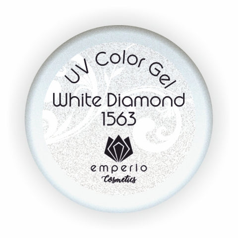 "UV Color Gel ""White Diamond"""