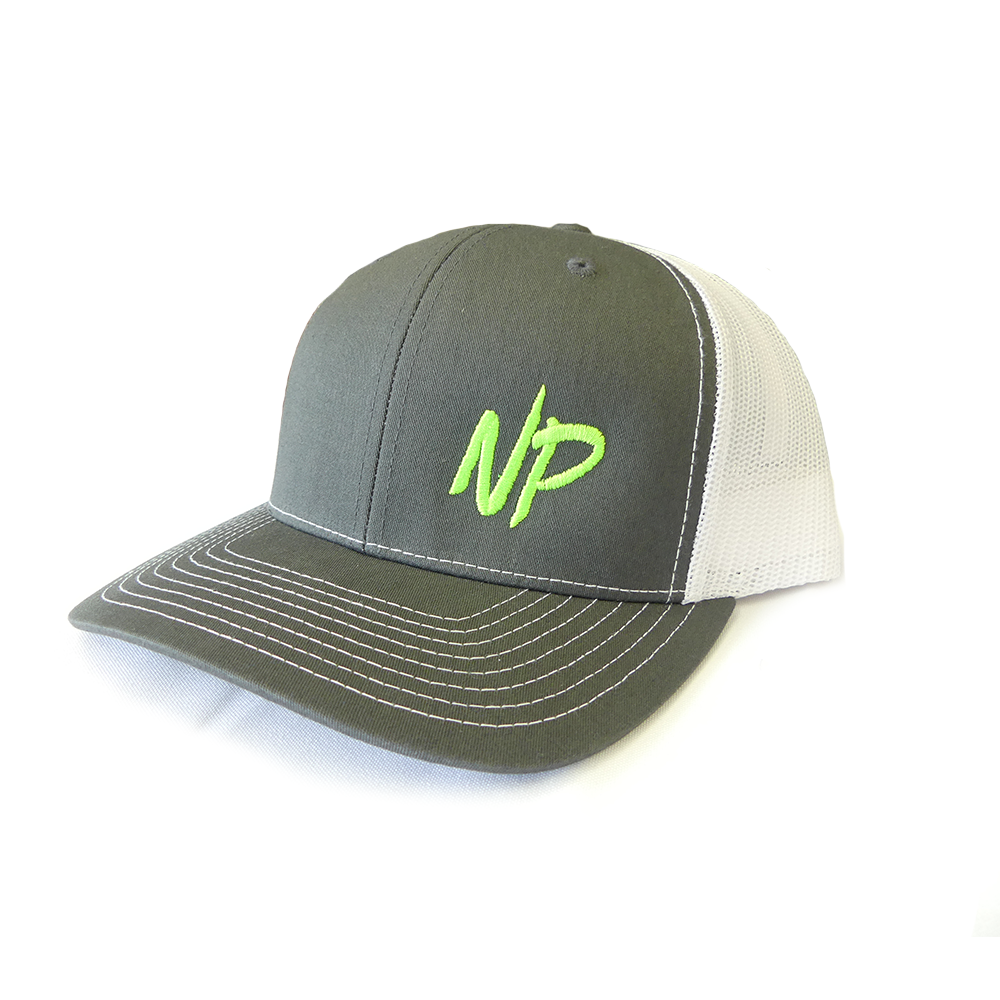 NP Logo Hat - Grey/White