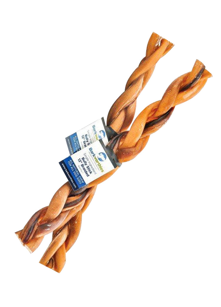 Barkworthies Braided Bully Sticks