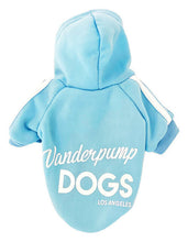 Load image into Gallery viewer, Vanderpump Dogs Blue Sweater
