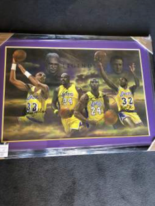 Lakers Legend Signed Print