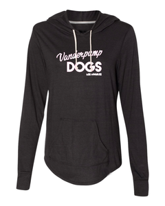 Vanderpump Dogs Hooded Pullover - Black