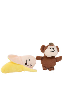 Mini Monkey & Banana Toy Set