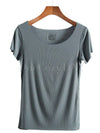 Solid Comfort Round Neck T-Shirt