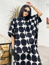 Original Polka-Dot Shirt Blouse Tops+Harem Pants Suits