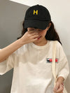 Simple Letter Printed Baseball Hats