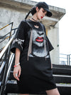 Cotton Hip-hop Loose Fashion Printed Dress