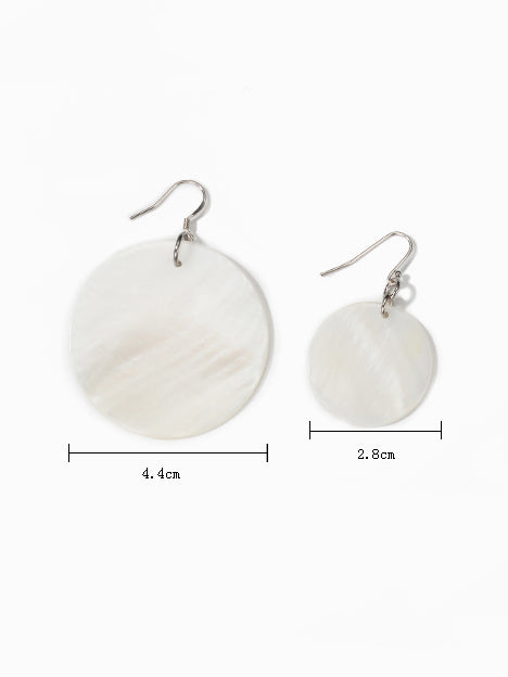 925 Silver Needle Shell Earrings