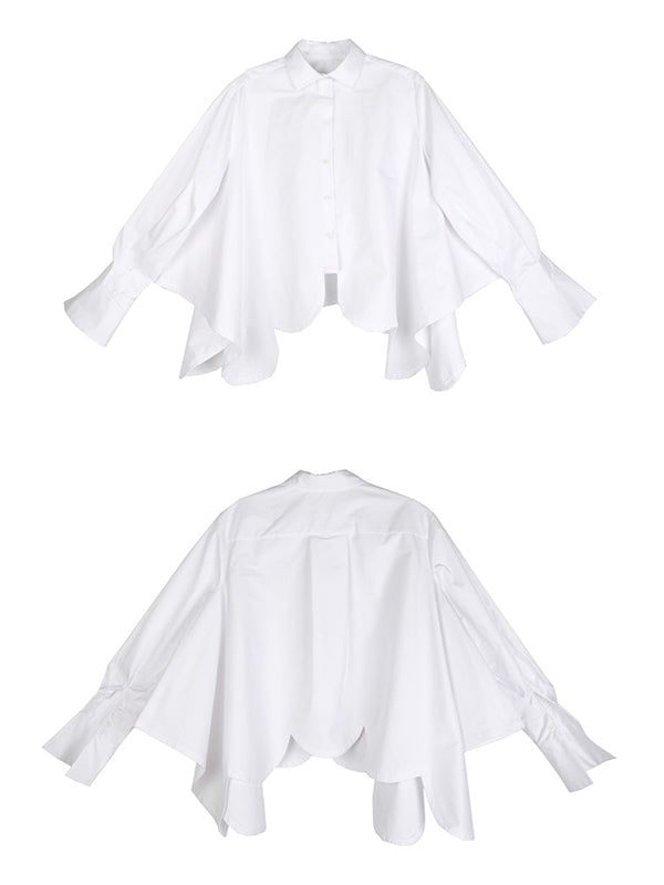 Casual Cropped Special-interest Shirt