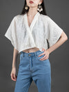 100% Silk Original Comfort Jacquard Sun-protection Shirt Top