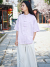 Vintage Forg Solid Short Sleeves Shirt